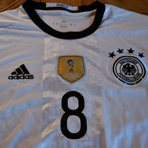 German National Team OZIL #8 Replica Jersey